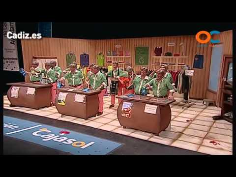 Sesión de Cuartos de final, la agrupación Los Amancio Hortera actúa hoy en la modalidad de Chirigotas.