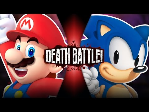 DEATH BATTLE! - Mario VS Sonic
