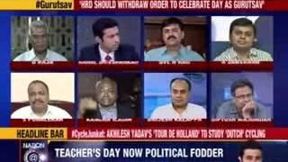 Nation at 9: #Gurutsav Pits Bharat vs India - NEWSXLIVE
