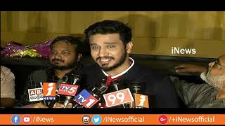 Actor Nikhil Siddharth Inaugurates Kitchen On Sixteen Wheels Food Truck | Metro Colours | iNews - INEWS