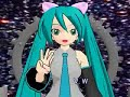 Miku Hatsune sings ABC song with sign language (ASL) - take2