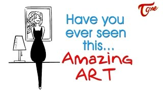 Have you ever seen this | Amazing ART - TELUGUONE