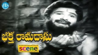 Bhakta Ramadasu Movie Scenes - Sri Rama Appears Infront Of Ramadasu || Chitttttor V. Nagaiah - IDREAMMOVIES
