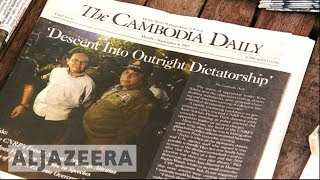 Cambodia court dissolves main opposition party - ALJAZEERAENGLISH