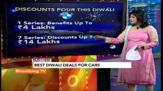 In Business- Best Car Deals This Diwali - BLOOMBERGUTV
