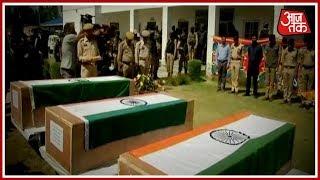 Kashmir में बौखलाए आतंकियों ने बनाया वर्दीवालों को निशाना ! Special Report - AAJTAKTV