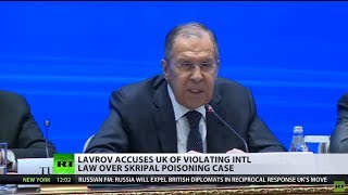 Lavrov accuses UK of violating law, Moscow opens case into the poisoning of Skripal's daughter - RUSSIATODAY