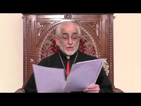 Սուրբ Ծննդեան Պատգամ Տէր Գրիգոր Պետրոս Ի. Կաթողիկոս Պատրիարքի