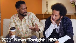 """Using The White Voice To Interview Boots Riley About """"Sorry to Bother You"""" - VICENEWS"""