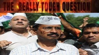 The Really Tough Questions I Arvind Kejriwal - TIMESNOWONLINE