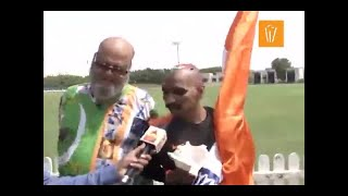 Here's how fans gear up for an India-Pakistan match - ABPNEWSTV