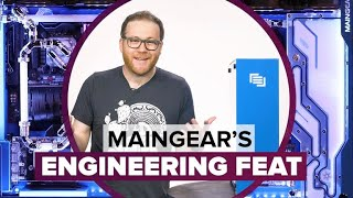 This Maingear PC might as well be from the future - CNETTV