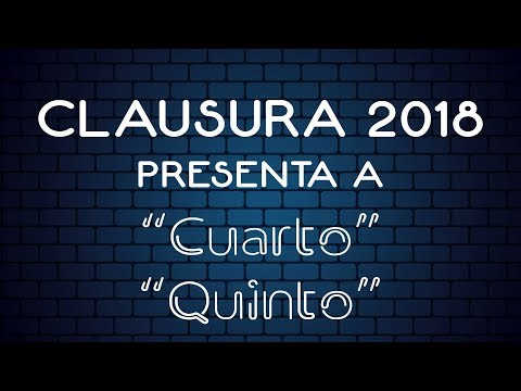 Clausura 2018 Bloque 3
