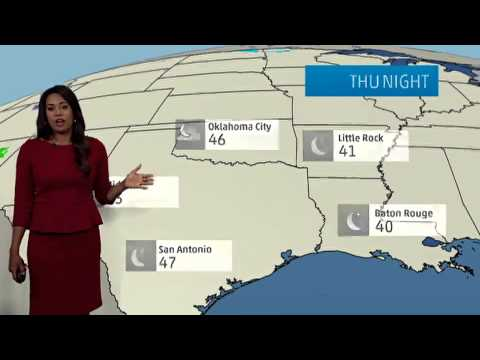 Austin's Weather Forecast for March 13, 2014