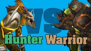 WoD PvP Hunter vs. Warrior guide (ПвП Охотник vs. Воин гайд)