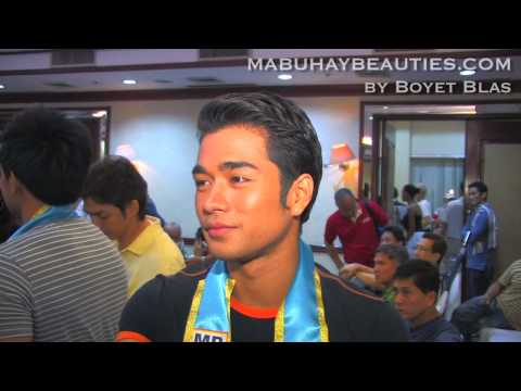Gino Quintana speaks up after winning MR. GLOBE PHILIPPINES 2010 title