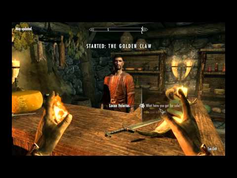 Starting a destruction mage in Skyrim - Commentary
