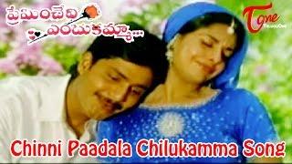 Chinni Paadala Chilukamma Song from Preminchedi Endukamma Movie   Anil, Maheswari - TELUGUONE