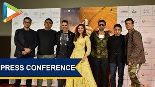 Press Conference of Film Kesari with Akshay Kumar, Karan Johar, Parineeti Chopra and others | Part 2 - HUNGAMA
