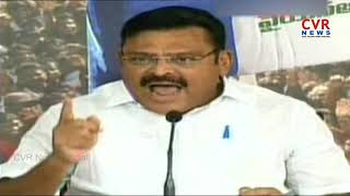 YSRCP Ambati Rambabu Fires on Chandrababu Naidu over TDP Comments on IT Raids | CVR NEWS - CVRNEWSOFFICIAL