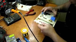 Ремонт электронного модуля стиральной машины Candy, Канди