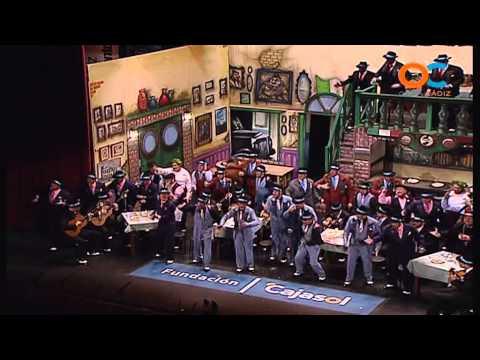 Sesión de Cuartos de final, la agrupación La trattoria actúa hoy en la modalidad de Coros.