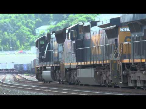 Some Nice Catches On CSX For The Month Of June And July 2012.