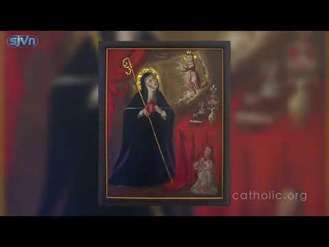 Ngày 16.11 Thánh Gertrude Cả