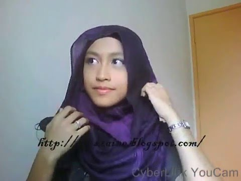 Tutorial : Hijab such as Hana Tajima style
