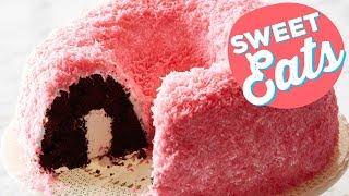 Snowy Pink Coconut Bundt Cake | Food Network - FOODNETWORKTV