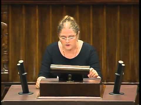 Krystyna Pawłowicz broni kar za edukacjęseksualną.