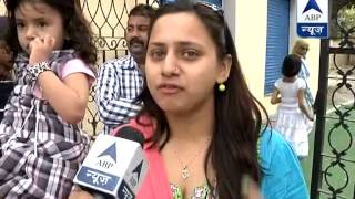 Entire family steps out to vote in Rampur - ABPNEWSTV