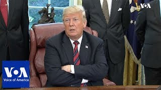 "Trump on Saudi Journalist Khashoggi: ""The Worst Cover Up in History of Cover Ups."" - VOAVIDEO"