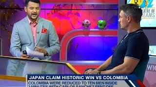 Theatre of Dreams: Japan claim historic win vs Colombia - ZEENEWS
