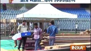 Devendra Fadnavis Meets Nitin Gadkari; Seeks His Blessing - India TV - INDIATV