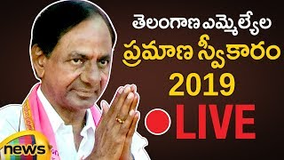 Telangana Assembly LIVE | Telangana MLAs Oath Ceremony LIVE | Telangana Latest News |  Mango News - MANGONEWS