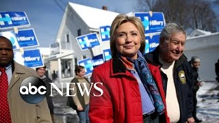 Sanders and Clinton Court Voters Days Before New Hampshire Primary - ABCNEWS