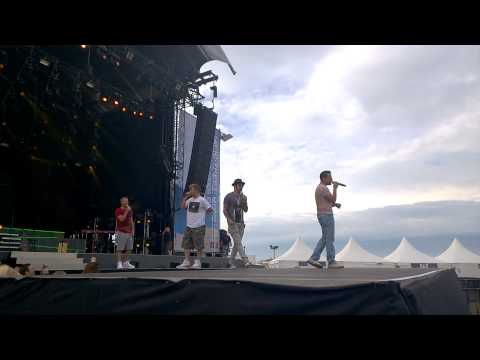 Soundcheck Backstreet Boys @ Oostende 20-07-14
