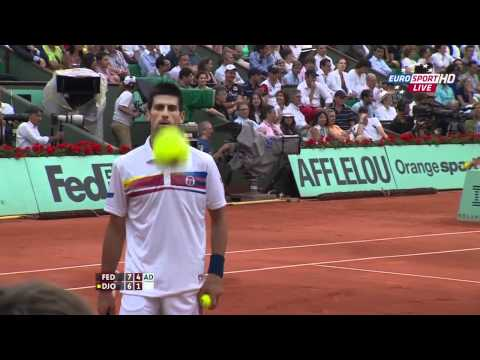 French Open 2011 - Federer vs Djokovic - Semifinal - 720p Full Match - Roland Garros