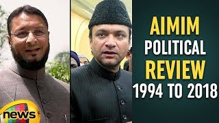 Asaduddin Owaisi Chief of AIMIM Political Review From 1994 to 2018 | #TelanganaElections |Mango News - MANGONEWS