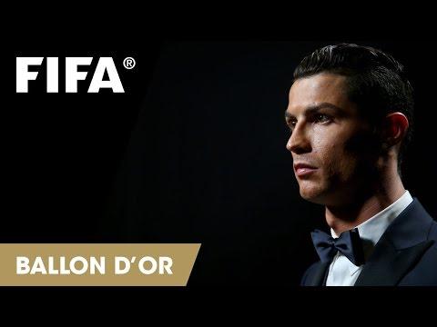 Cristiano Ronaldo: FIFA Ballon d'Or Reaction