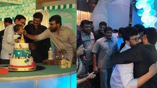 Megastar Chiranjeevi At Ganta Srinivasrao Grandson Birthday Celebration Photos - RAJSHRITELUGU
