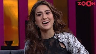Sara Ali Khan steals the limelight at Karan's chat show 'Koffee with Karan' | Bollywood News - ZOOMDEKHO