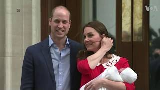 Duke, Duchess of Cambridge Present Royal Baby - VOAVIDEO