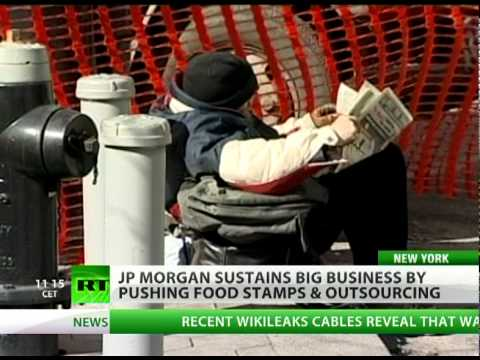 Making Fortune on Poverty: JP Morgan's Big Food Stamp Business