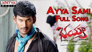 Ayya Sami Full Song II Bhayya Movie II Vishal, Priyamani - ADITYAMUSIC