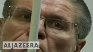 Russia Jails former minister for eight years - ALJAZEERAENGLISH