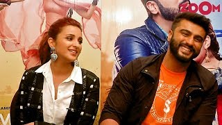 Namaste England stars Arjun Kapoor & Parineeti Chopra talk about their on-screen chemistry & more - ZOOMDEKHO