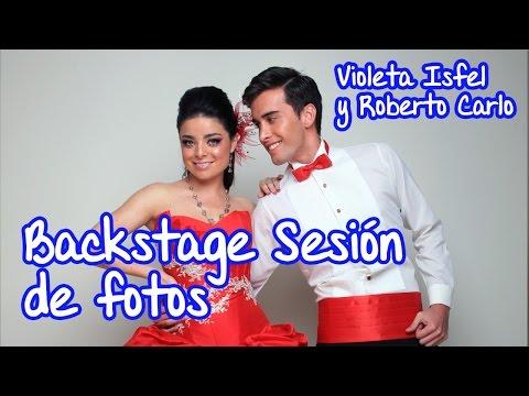 Expo 15 México Backstage Violeta Isfel y Roberto Carlo, Diseños Sharon.