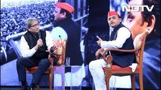 NDTV युवा : अखिलेश यादव बोले- 50 साल नहीं जनता 50 हफ्ते में कर देगी फैसला - NDTVINDIA